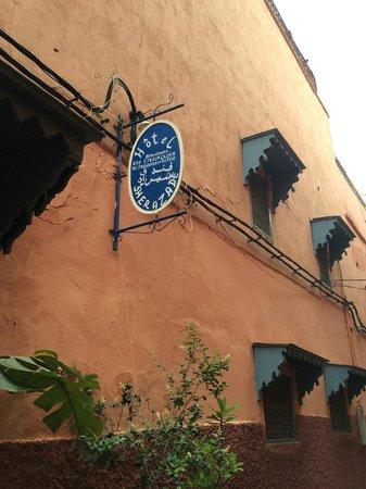 Hotel Sherazade: hotel sign