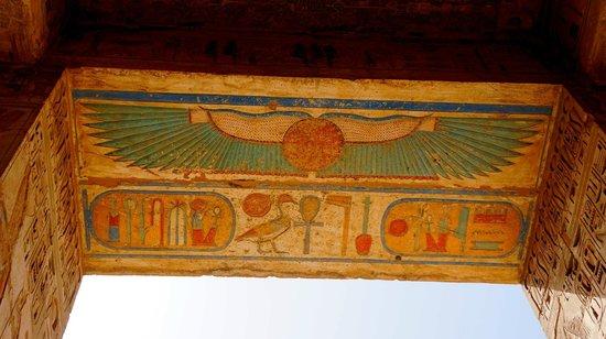 Temple of Medinat Habu: temple