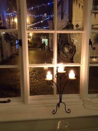 The Elderflower Lymington: The view from our table