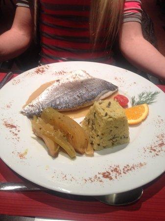 Golf Hotel Grenoble Charmeil : ужин