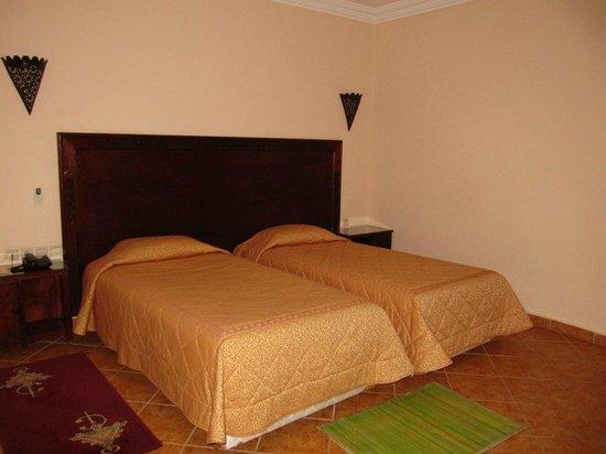 Hotel Chems du Lac Bin el Ouidane : La chambre