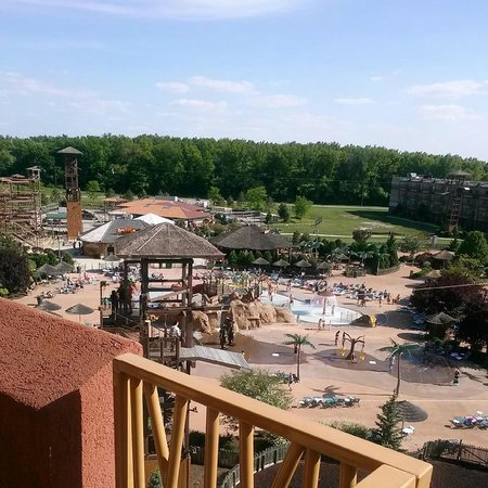 Kalahari Resorts & Conventions: View from Lodge Suite Balcony