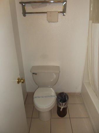 Ambassador Inn And Suites : Clean bathroom / Room 201.
