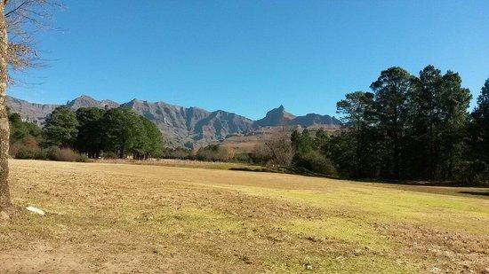 Gooderson Drakensberg Gardens Golf & Spa Resort: View from golf course