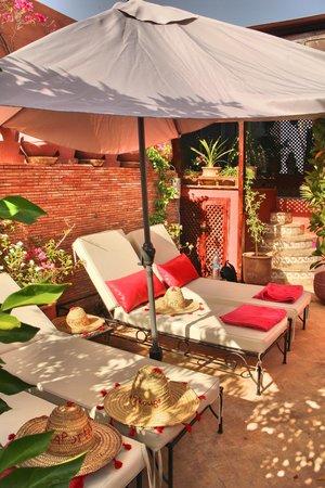Riad La Porte Rouge : Roof terrace