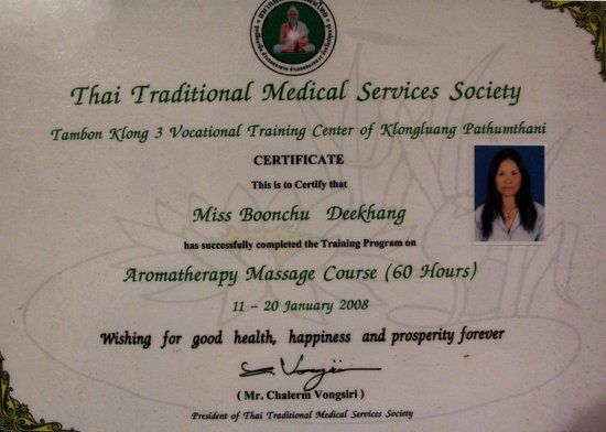 Shop Front Welcome - Picture of Rey Wellness Massage, Lamai
