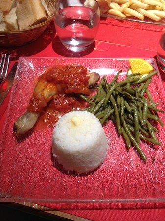 Ibis Marseille Timone : Ужин