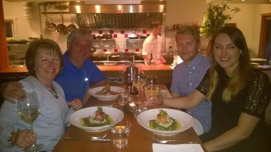 Norwoods Restaurant: 30 May 2014 at Norwoods in Ucluelet