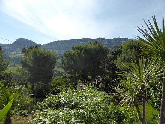 Le Cap: Vue de la terrasse - chambre n°5