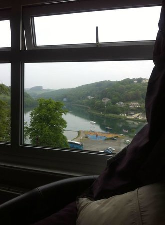 Schooner Point Bed & Breakfast: our view from our bedroom window