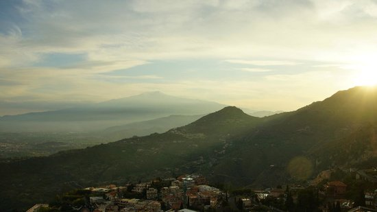 Al Saraceno: Schöner Blick Richtung Ätna