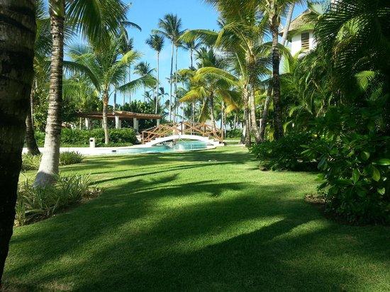 Secrets Royal Beach Punta Cana: Blick von Zimmer 5141 zum Pool