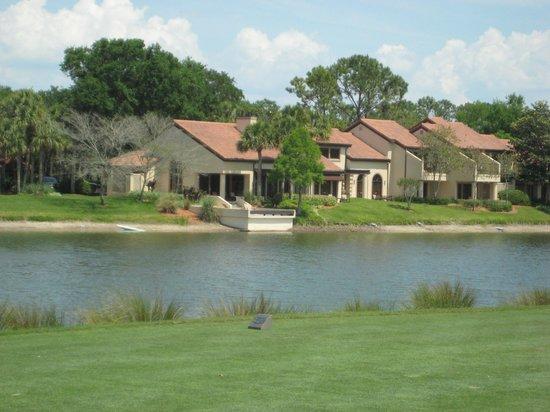 Villas of Grand Cypress: Villa 4071 from tee nr. 3 North Course