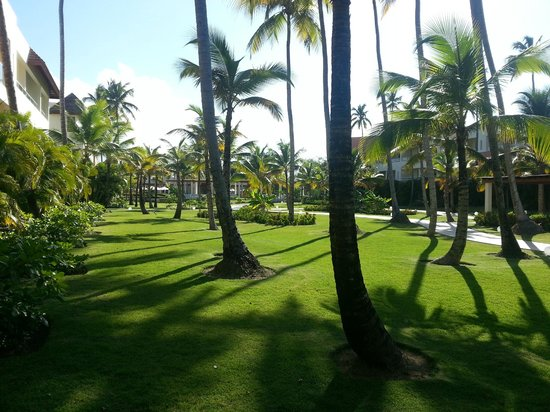 Secrets Royal Beach Punta Cana: Blick von Zimmer 5141 zum Secrets Plaza