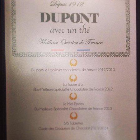 Dupont Avec Un Thé : Le palmarès