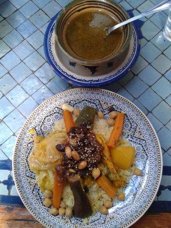 Restaurant Tissemlal o Casa Hassan : Excellent cus cus