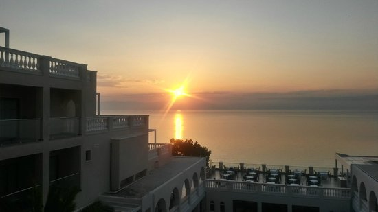 MarBella Corfu Hotel: Sunrise view from our room