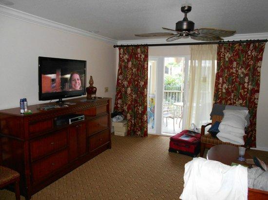 Sheraton Vistana Resort - Lake Buena Vista: Living comedor