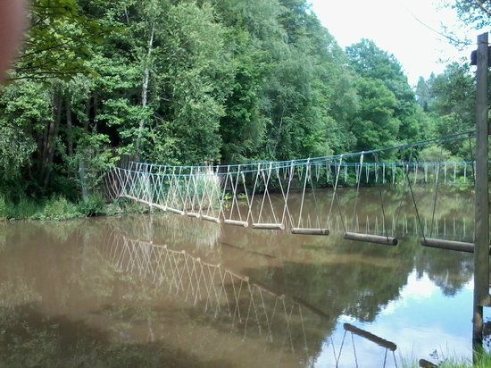Domaine Long Pre : L'étang