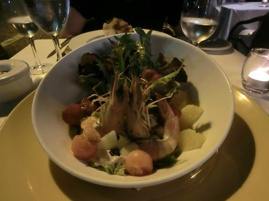 Restaurante Mozart : shrimp salad