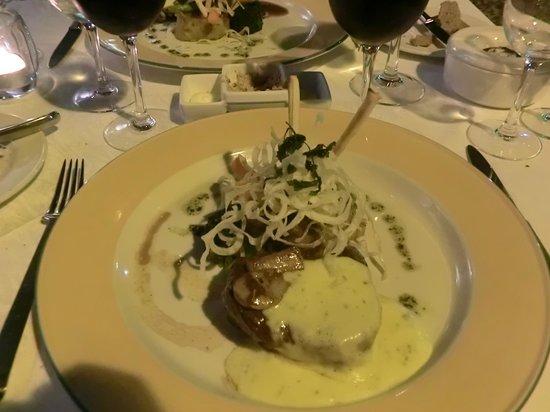Restaurante Mozart: steak rossini