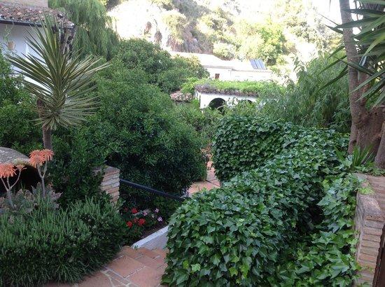 Molino del Santo: Gardens