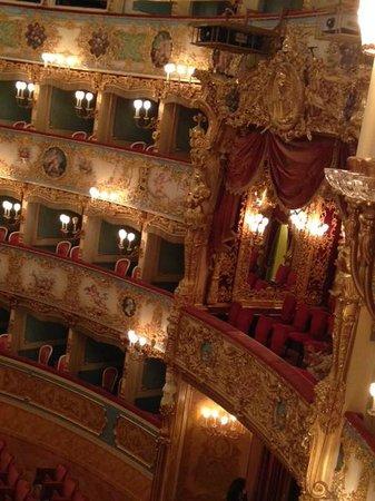 Teatro La Fenice : palco reale