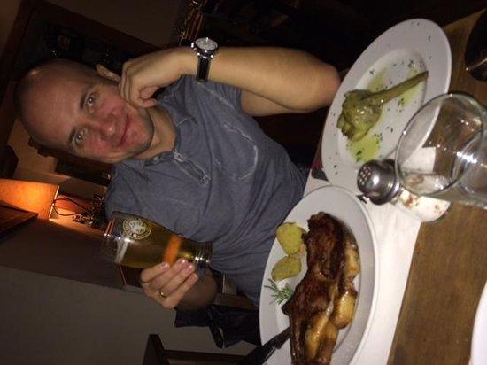 Il Chianti : bistecca con carciofo