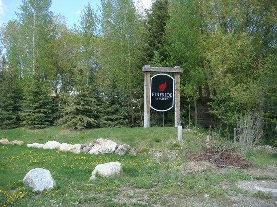 Fireside Resort Entrance