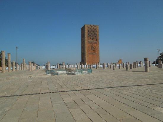 Hassan Tower & columns for unbuilt mosque