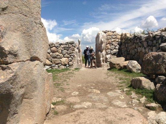 Baskent Demiralan Hotel: Hattusas ruins