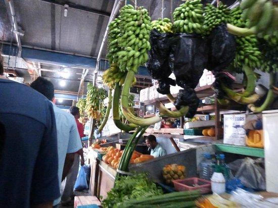 Male Local Market: marché couvert de Malé