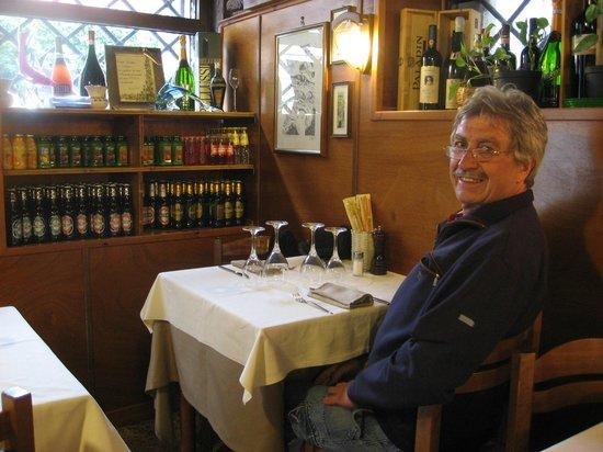 Taverna San Trovaso : Ein schönes Plätzchen im Restaurant