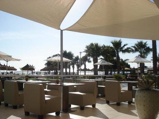 CLC Apollonium Spa & Beach : The restaurant and bar