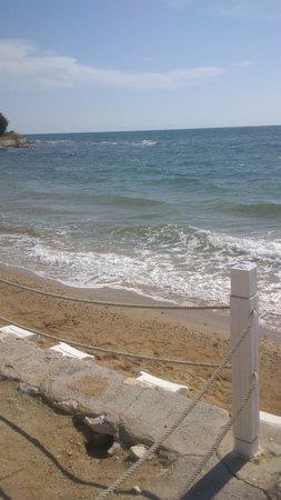 CLC Apollonium Spa & Beach: The beach at the resort