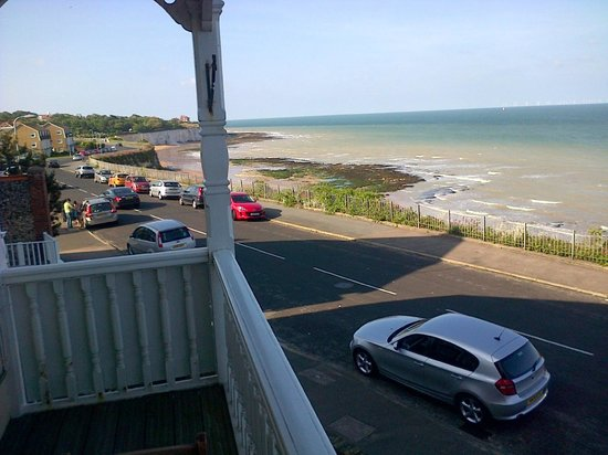 The Devonhurst: View from the balcony of room 2