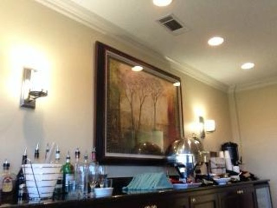 Columbus Marriott: Concierge Lounge