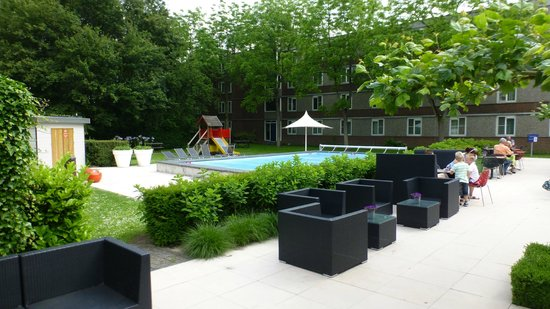 Novotel Rotterdam-Schiedam : Closed swimming pool