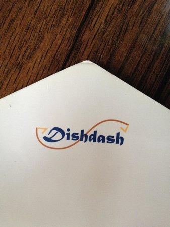 Dishdash: Menu Logo