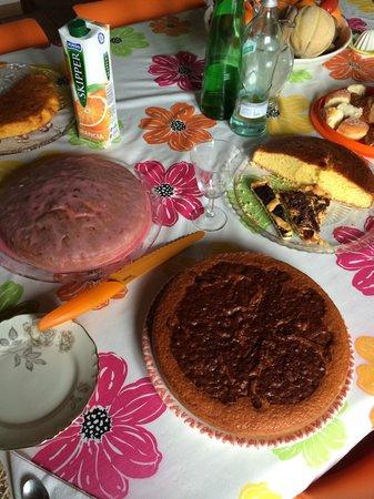 B&B del Prato : Mukka ... Torta con l'arancia