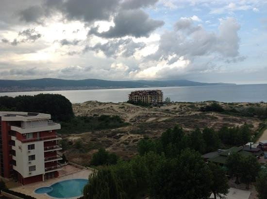 Imperial Hotel : Our beach, and room view