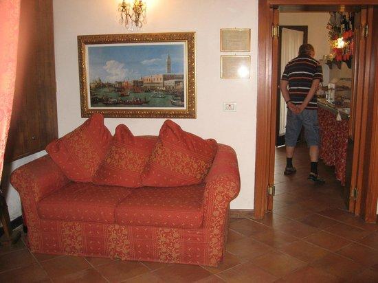 Casa Rezzonico: Eingangsbereich Hotel