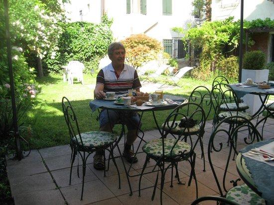 Casa Rezzonico: Garten