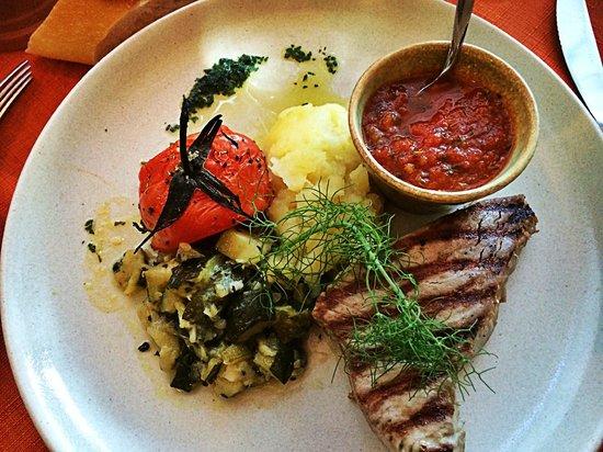 Le Recreation: Pavé de thon grillé