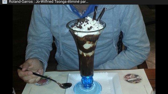 Ristorante DiVino: Une des coupes de glaces proposées après un bon repas