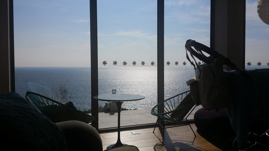 Polurrian Bay Hotel: view from the lounge