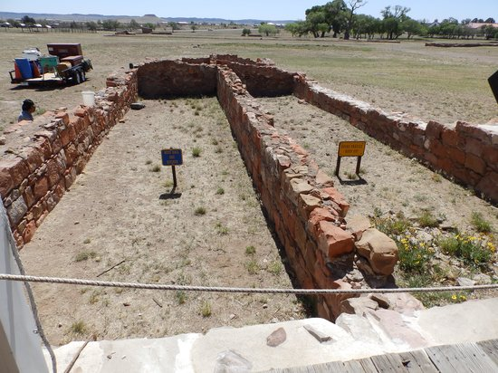 Fort Davis National Historic Site : Fort Davis Restoration Work Underway