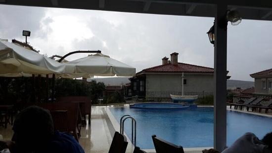 Imren Han Hotel & Mansions: yağmur bile bir başka keyifliydi