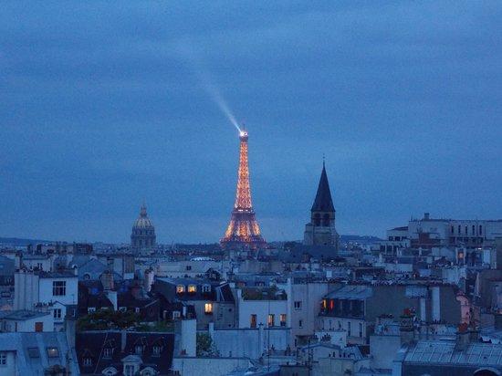 Holiday Inn Paris - Notre Dame : Terraza del hotel (infernal la vista)