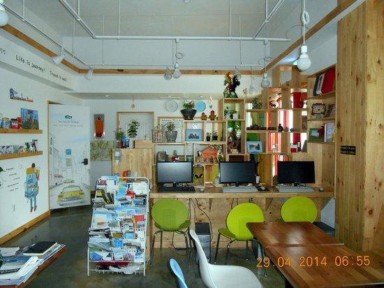 Blue Backpackers Hostel: spazi comuni
